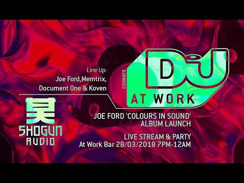 DJ Mag at Work x Joe Ford Album Launch Party!