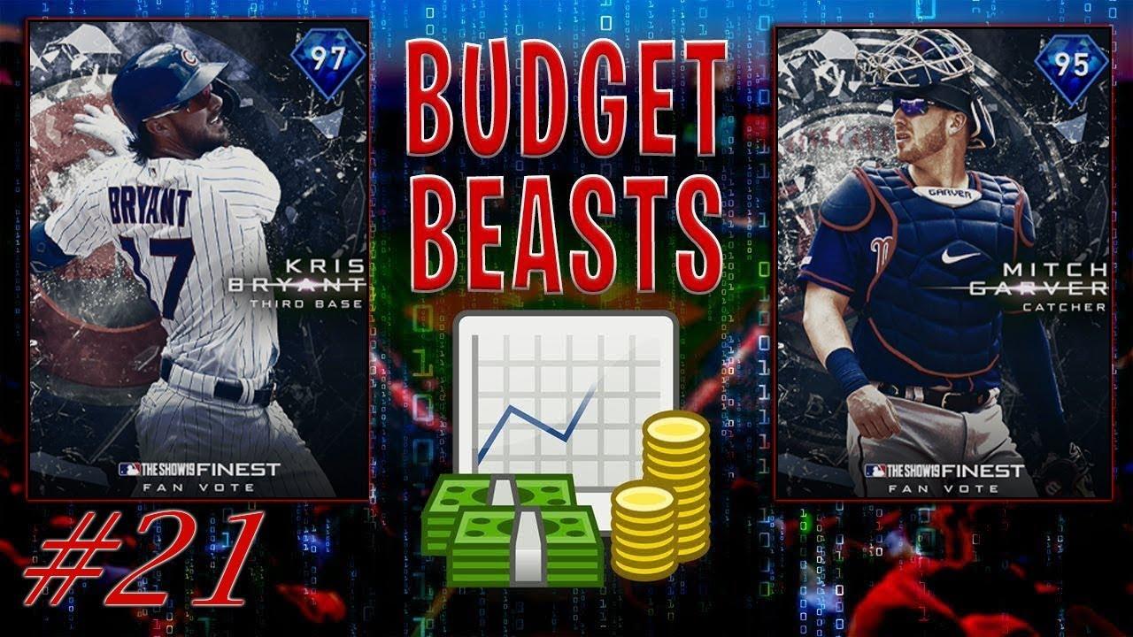 BUDGET BEASTS (#21) NEW SEASON NEW FACES! MLB THE SHOW 19 RANKED SEASONS DIAMOND DYNASTY!