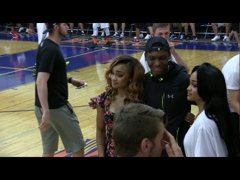 Phoenix Suns Josh Jackson vs Philly Pride in front of Gonzalez twins