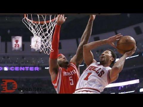 Derrick Rose 19 Pts. 9 Ast. vs Houston Rockets 2015.01.05.