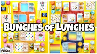 Your School Lunch Ideas + Kids React 🍎 Making YOUR lunches