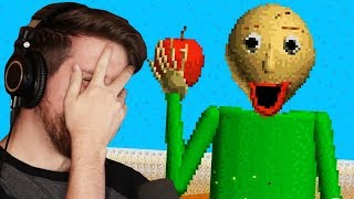 HE'S BACK, AND HE'S HUNGRY! HAHA - Baldi's Basics Full Game Public Demo