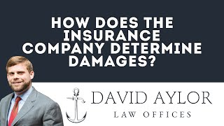 How Does The Insurance Company Determine Damages | Charleston SC Auto Accident Lawyer