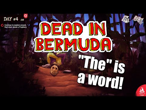 "Dead in Bermuda - ep 2 - ""THE"" IS A WORD! - Let's Play Dead in Bermuda |"