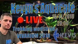 🔴 LIVE Kevyn's Aquacafé - Prijsuitreiking VIVARIUM wedstrijd