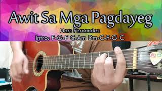 Awit Sa Mga Pagdayeg - Nars Fernandez - Guitar Chords