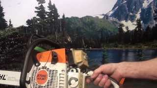 The chainsaw guy shop talk Stihl MS 361 chainsaw 2 28