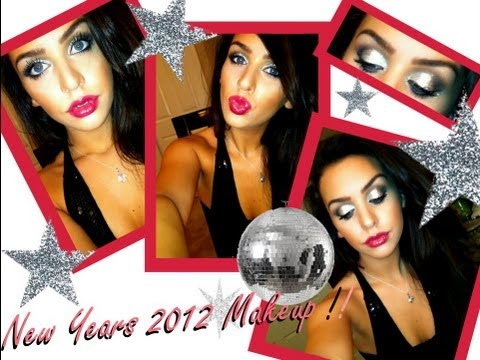 New Years Eve Glitter Makeup Tutorial 2012