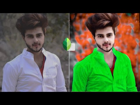 Snapseed Background Colour Change || Amazing Trick || Part 2 Best Photo Editing Tutorial