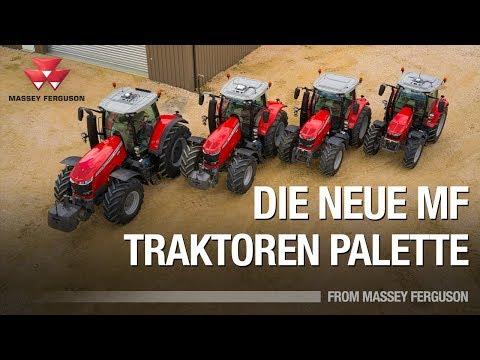 Die Neue Massey Ferguson Traktoren Palette (Deutsch)