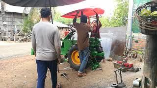 SVANG VICHITH'S  tractor installation activity