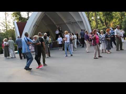 Amore no. Танцы в парке им. Горького. Kharkiv. Music. Dance.