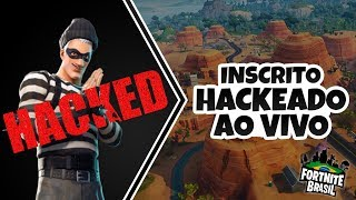 ENROLLED WAS HACKED LIVE DURING THE DEPARTURE AT FORTNITE