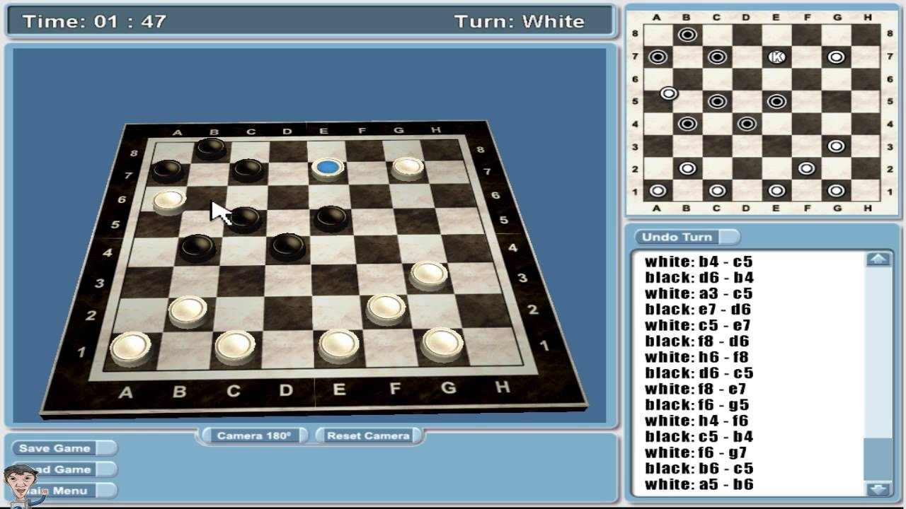 Capitulo 17 real checkers 3d damas juegos de mesa for Juego de mesa esquinero