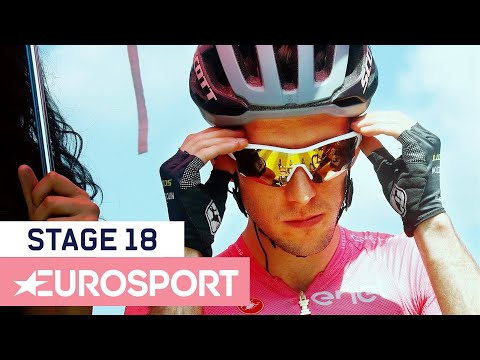 Giro d'Italia 2018 | Stage 18 Highlights | Cycling | Eurosport