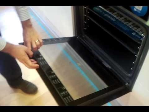 Tutorial como desmontar cristales de las puerta hornos - Como limpiar un lavavajillas ...