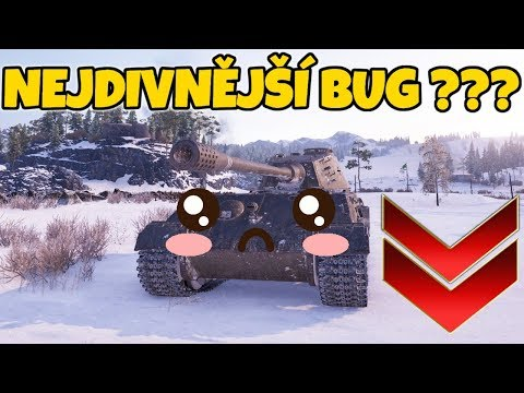NEJDIVNĚJŠÍ BUG ve World of Tanks ??? thumbnail