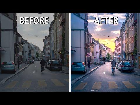 Video hướng dẫn Blend màu chiều tím cho ảnh tuyệt đẹp bằng Lightroom