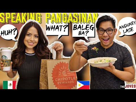 Speaking ONLY Pangasinan (Pangalatok) to my Mexican Wife for 24 Hours Challenge / Tagalog VLOG
