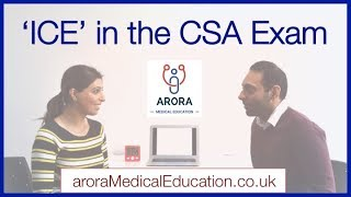 How to use 'ICE' efficiently in the CSA Exam