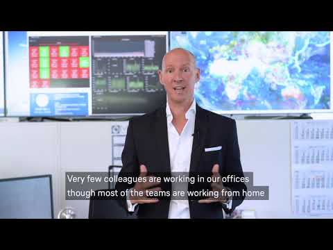 Message from our CEO  Olivier Krueger to our customers, partners and friends / Lufthansa Systems