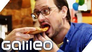 Dieser Mann isst seit 25 Jahren nur Pizza | Galileo | ProSieben
