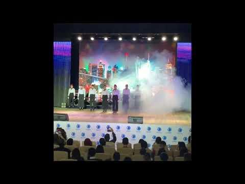 Посвящение в первокурсники 2019 . Танец стюардесс