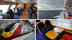 Belfast to London by ferry & train, via Cairnryan