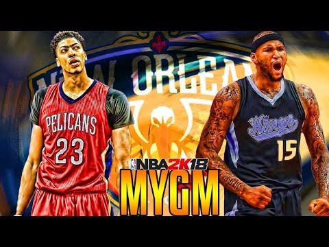 A BRAND NEW START NEW ORLEANS PELICANS MYGM NBA 2K18 EP1