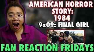 "AMERICAN HORROR STORY: 1984 Season 9 Episode 9: ""Final Girl"" Reaction & Review   FRF"