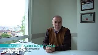 Dünya İnme Günü 29 Ekim 2017 Prof Dr Abdulkadir Koçer