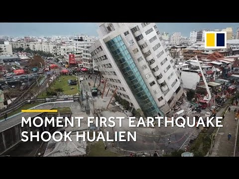 Taiwan earthquake 2018: panic and fear as first deadly quake