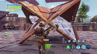 Fortnite Save The World Infinite Campfire And Double Wall/Pyramid Glitch!!!!