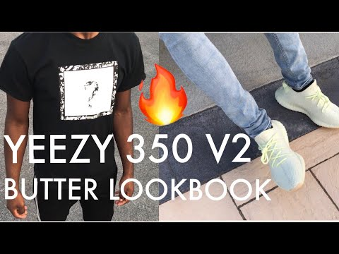 VERY BASIC LOOKBOOK FOR ADIDAS YEEZY 350 BUTTER