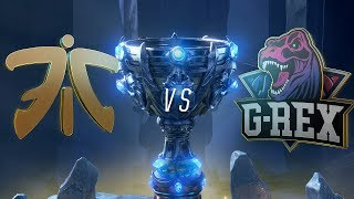 FNC vs GRX | Worlds Group Stage Day 8 | Fnatic vs G-Rex   (2018)