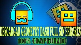 Como Descargar Geometry Dash 2.0 Full para PC, Mega 2015, Sin emuladores Ultima versión