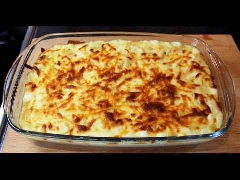 Макароны, запеченные с сыром в духовке - МАКАРОНЫ ЧИЗ. Macaroni Cheese.