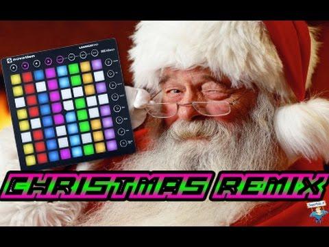 Christmas Remix - Martin Garrix Animals - Launchpad Mk2 Cover