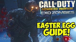 Advanced Warfare EXO ZOMBIES EASTER EGG - FULL Guide/Tutorial! (Exo Zombies Easter Egg)