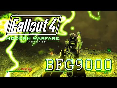 Fallout 4 in 2018: BFG9000 in Radioactive Hell (featuring Doomgirl Cait)
