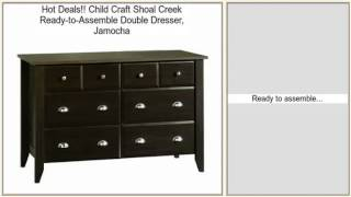 Child Craft Shoal Creek Ready-to-assemble Double Dresser, Jamocha Review