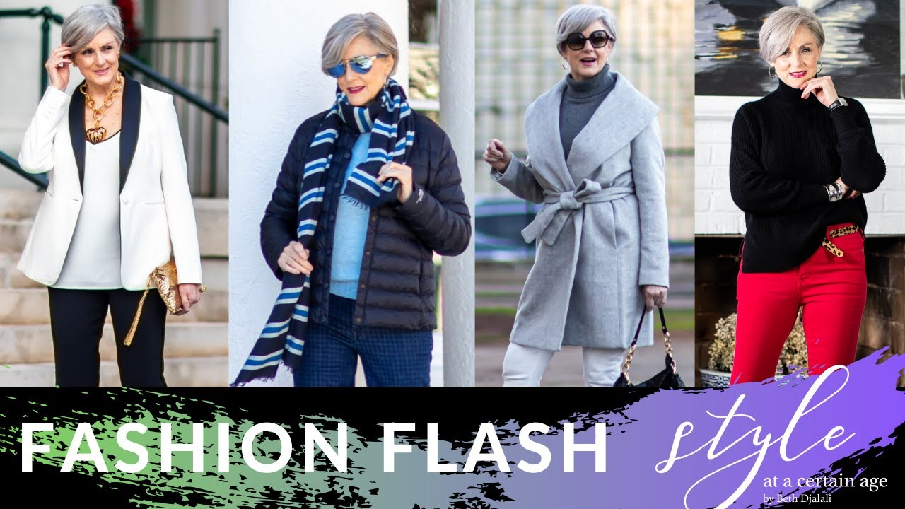 Fashion Flash Must Have Winter Outfits Women S Fashion Over 50 Youtube