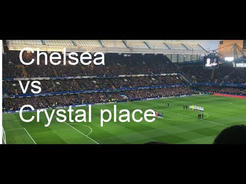chelsea vs crystal palace back to wining ways with a 2-1 win vlog
