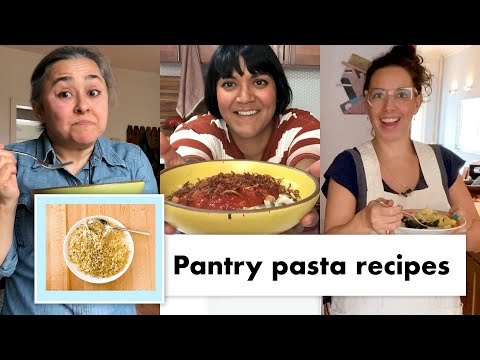 pro-chefs-make-13-kinds-of-pantry-pasta-|-test-kitchen-talks-@-home-|-bon-appétit