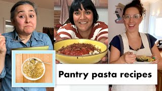 Pro Chefs Make 13 Kinds of Pantry Pasta | Test Kitchen Talks @ Home | Bon Appétit