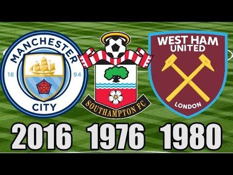 The Last Time EVERY Premier League Club Won A Trophy (Part 2: Man City - West Ham)