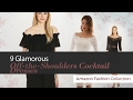 9 Glamorous Off-the-Shoulders Cocktail Dresses Amazon Fashion Collection