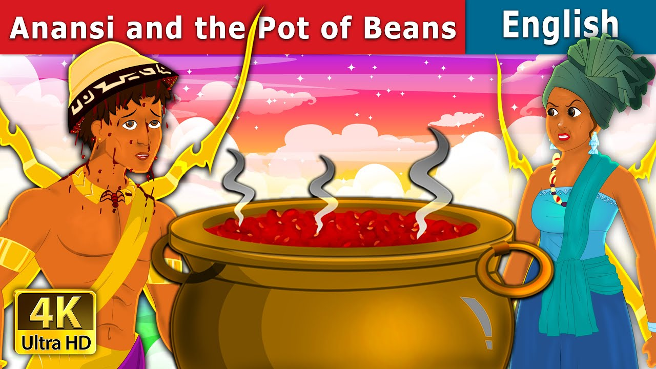 Anansi and the Pot of Beans | English Fairy Tales