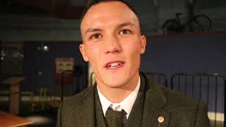ITS B*******! -JOSH WARRINGTON RIPS INTO LEE SELBY - & ON FRAMPTON, WORLD TITLE SHOT & DENNIS CEYLAN