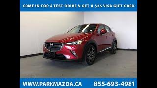 PRE-RED 2016 Mazda CX-3 GT  Review Sherwood Park Alberta - Park Mazda